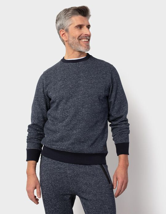 Carded Sweatshirt, for Men