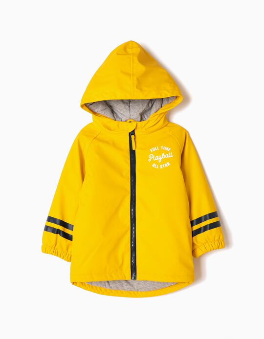 Yellow Parka with Hood, Playball