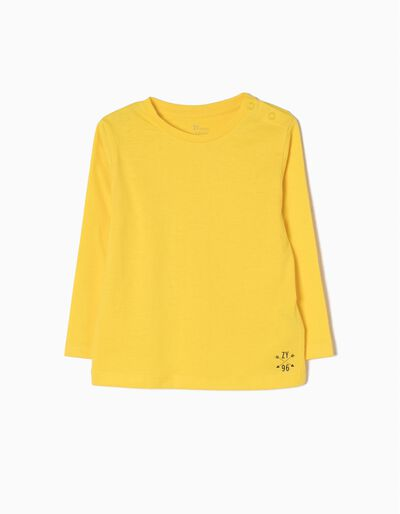 T-shirt Manga Comprida Yellow