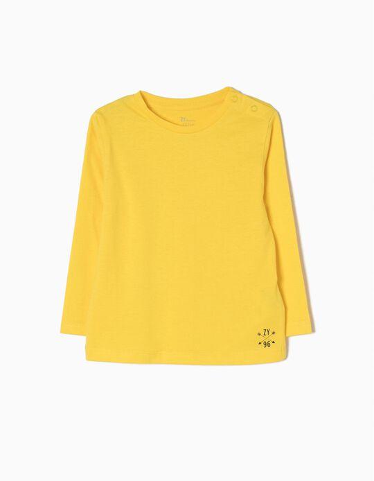 T-shirt Manga Comprida Yellow