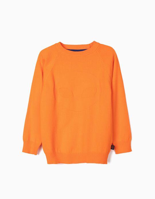 Orange Jumper for Boys