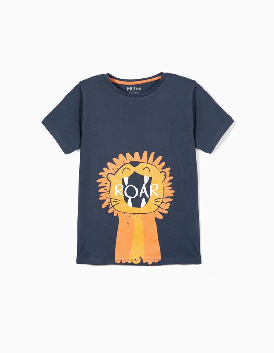 T-shirt Leão Roar