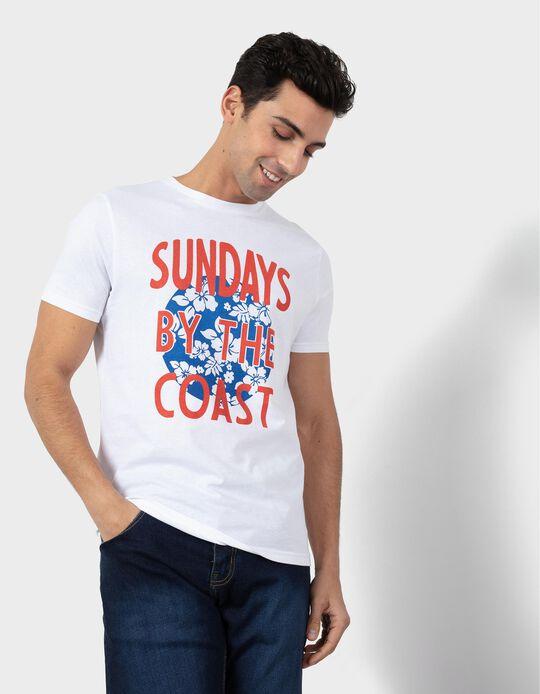 T-shirt for Men, 'Sundays'