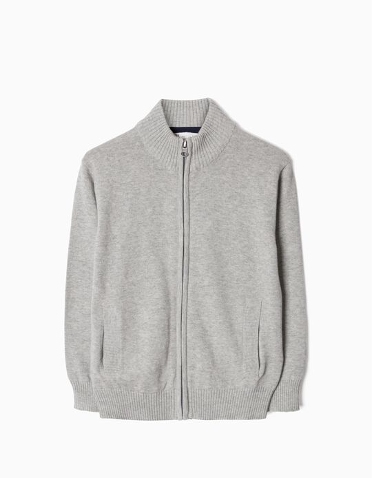 Cardigan for Boys, Grey