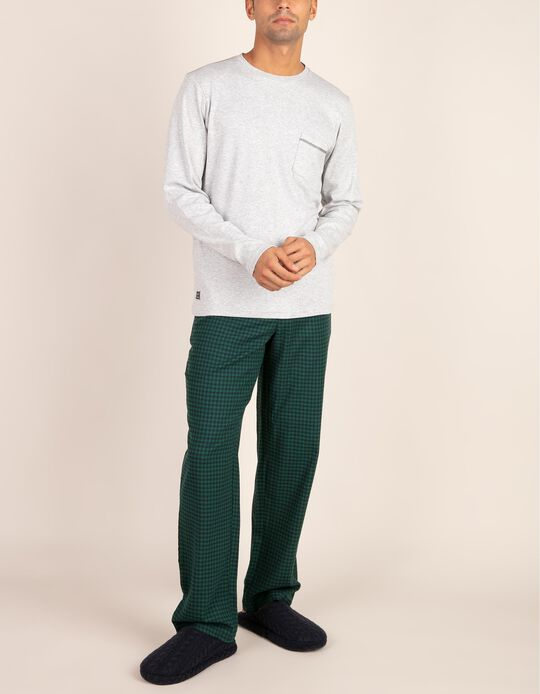 Calças de pijama aos quadrados Aprés Ski