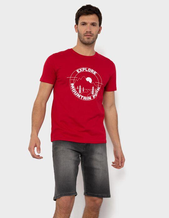 T-shirt para Homem, 'Explore'