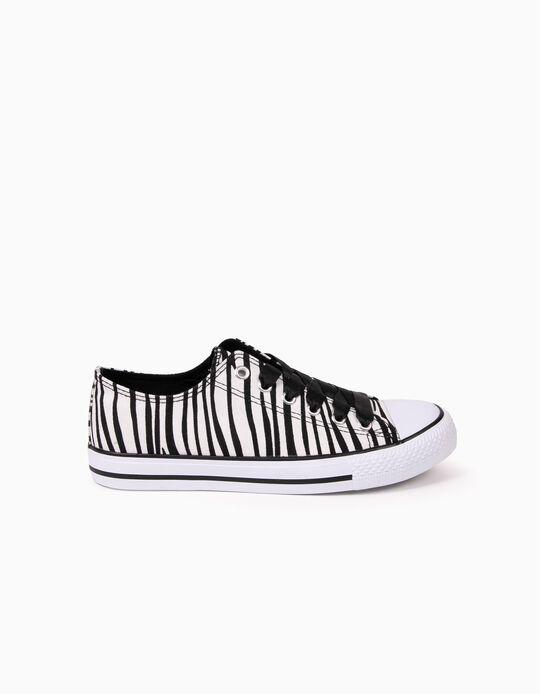 Sapatilhas Zebra