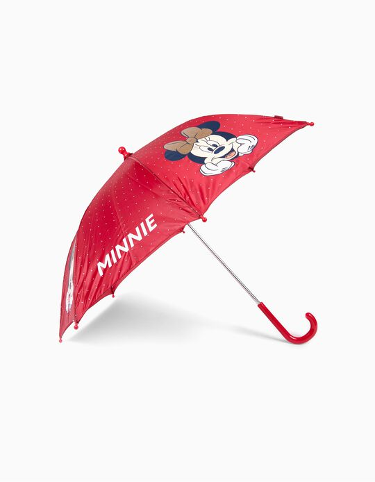 Umbrella for Girls 'Minnie', Bordeaux