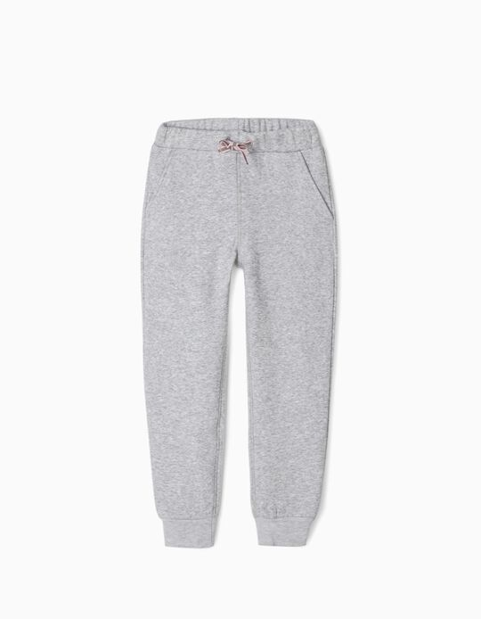 Joggers for Girls, Grey