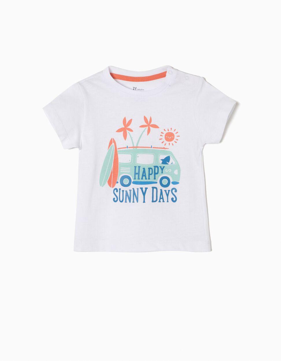 T-shirt Estampada Sunny Days