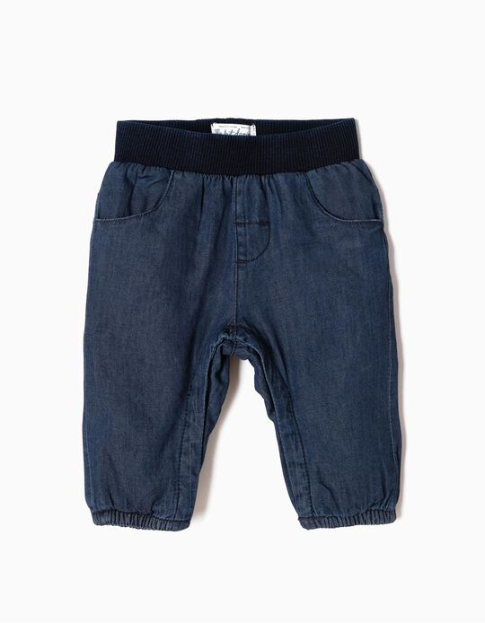Denim Trousers for Newborn 'My 1st Denim', Blue