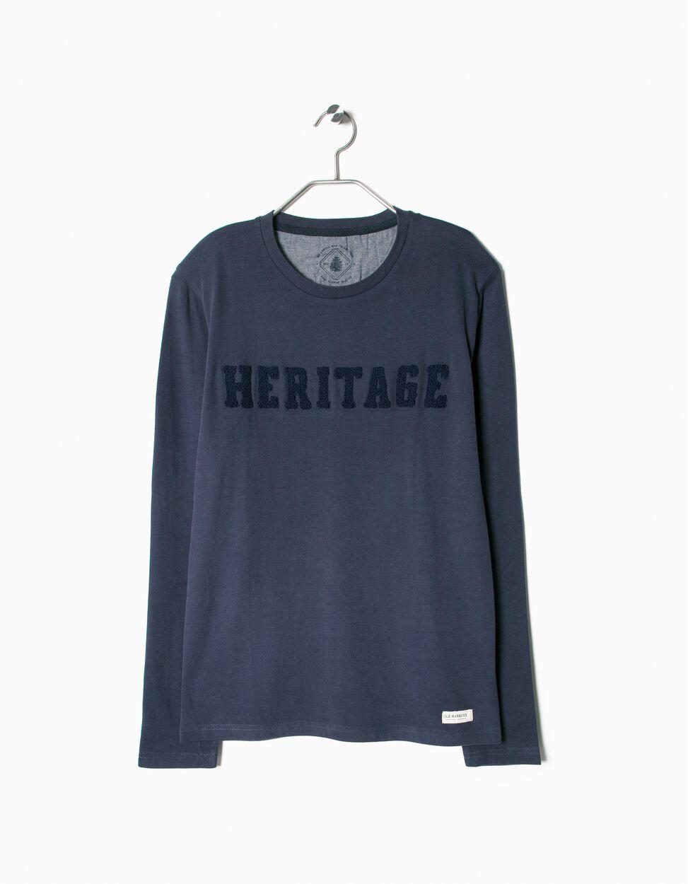 T-Shirt Mangas Compridas Heritage