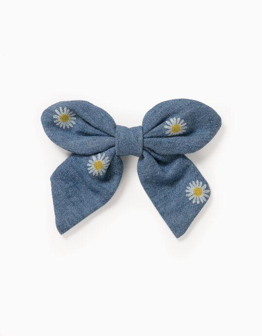 Hair Slide for Girls'Daisy', Blue