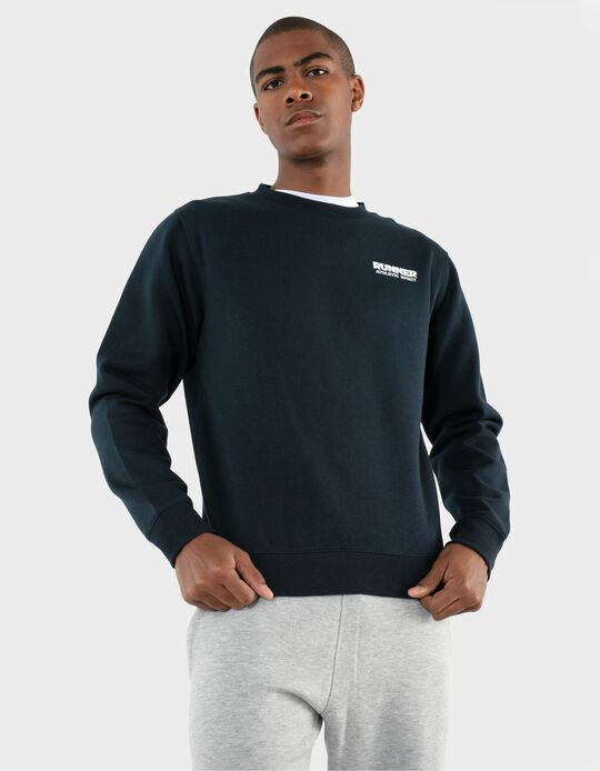 Carded Sweatshirt, Runner