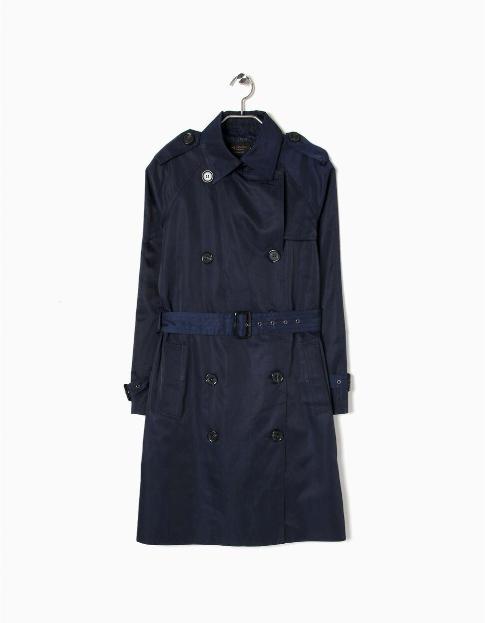Trench Coat Azul