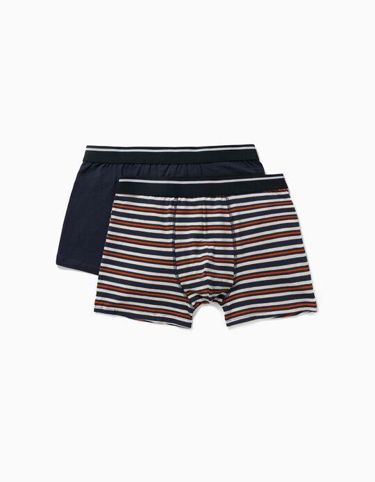 2 Assorted Boxer Shorts for Men