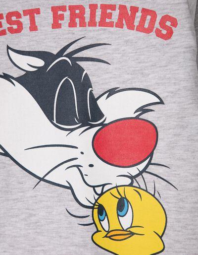 T-shirt Manga Comprida Sylvester & Tweety