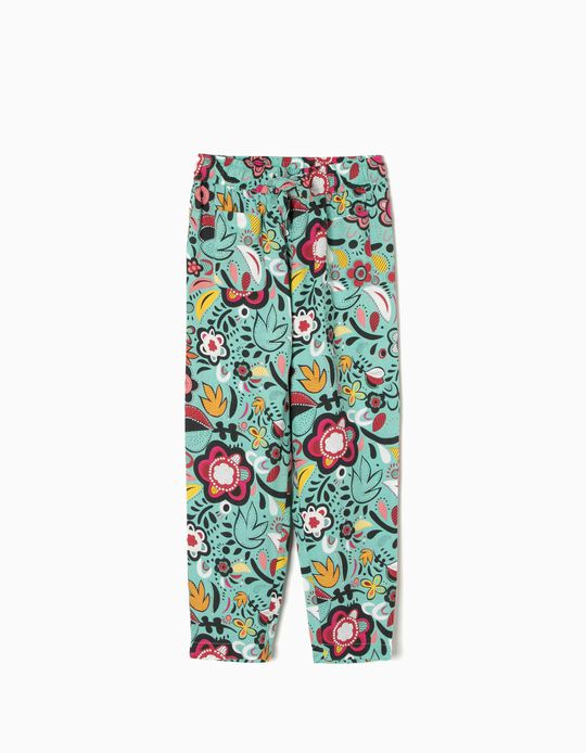Fluid Trousers, Floral