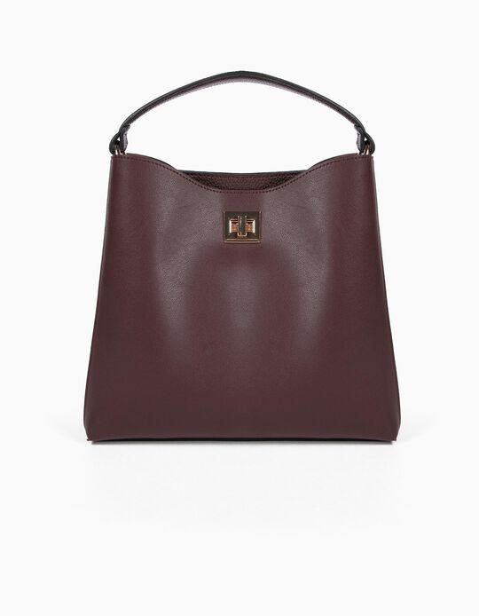 Pebbled-effect Handbag
