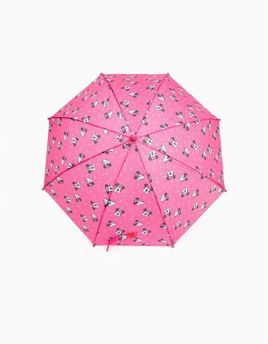 Umbrella for Girls 'Minnie', Pink