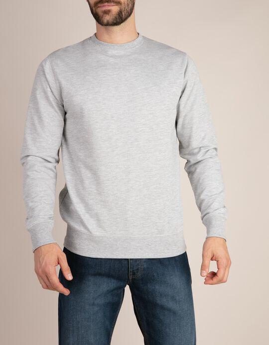 Sweatshirt Cinza