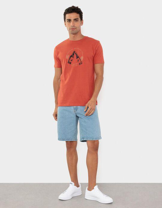 Cotton T-shirt, for Men
