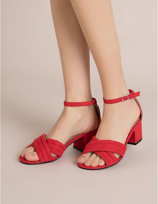 Sandálias Com Tiras