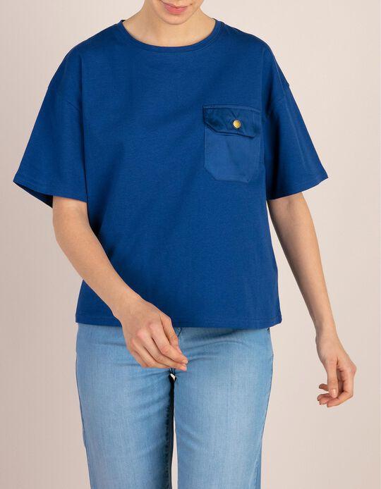 T-Shirt Com Bolso