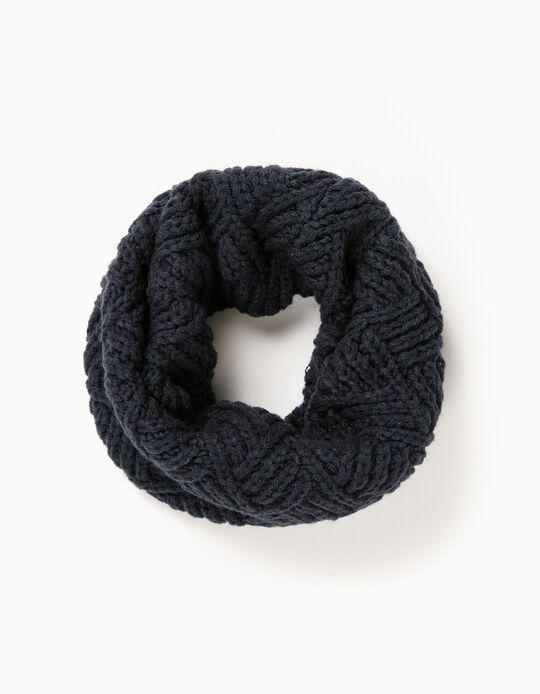 Gola Tricotada Azul
