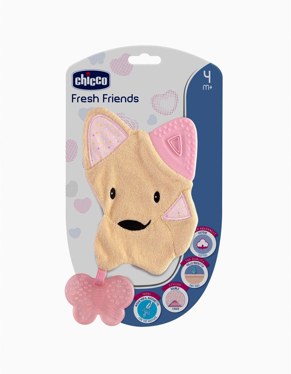 Mordedor Fresh Friends 4m+ Chicco