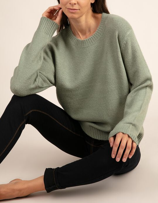 Plain, round neck jumper. Part of the Essentials collection.