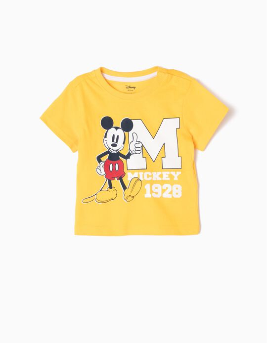Yellow T-Shirt, Mickey Mouse 1928