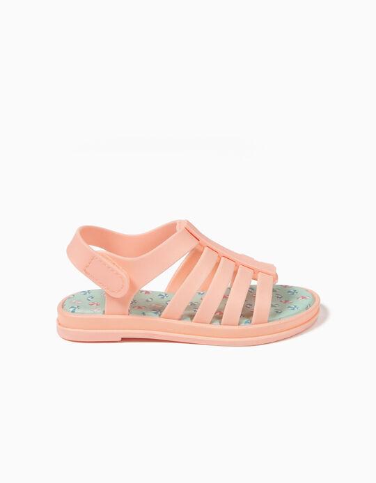 Sandálias para Bebé Menina 'Guarda-Sóis', Rosa