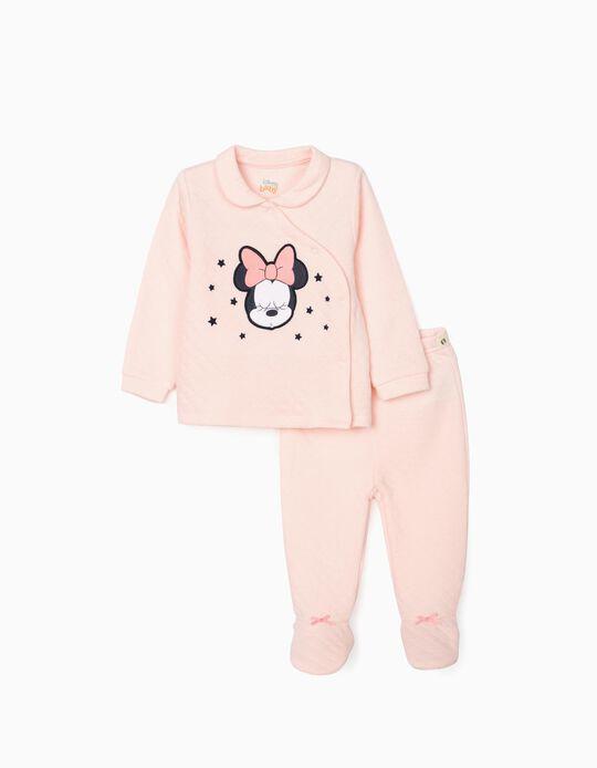 Pijama para Recém-Nascida 'Minnie', Rosa