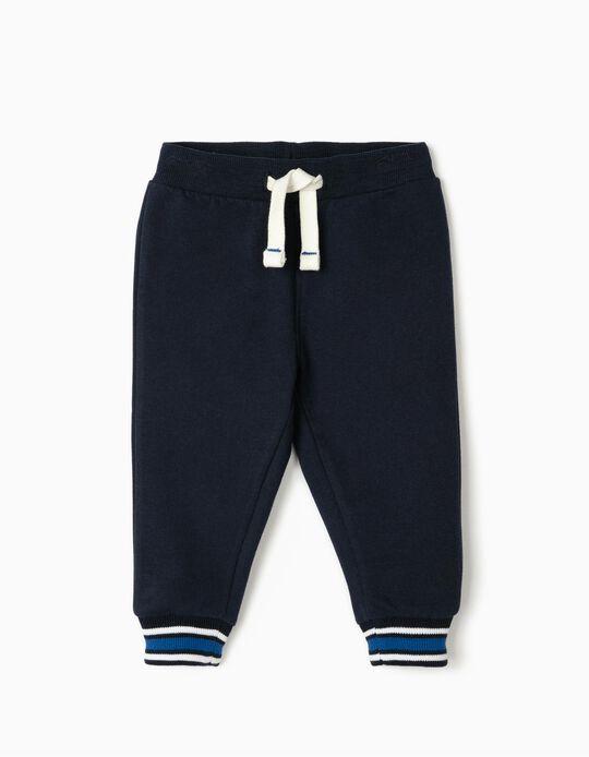 Joggers for Baby Boys, Dark Blue