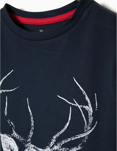 T-shirt Manga Comprida Deer
