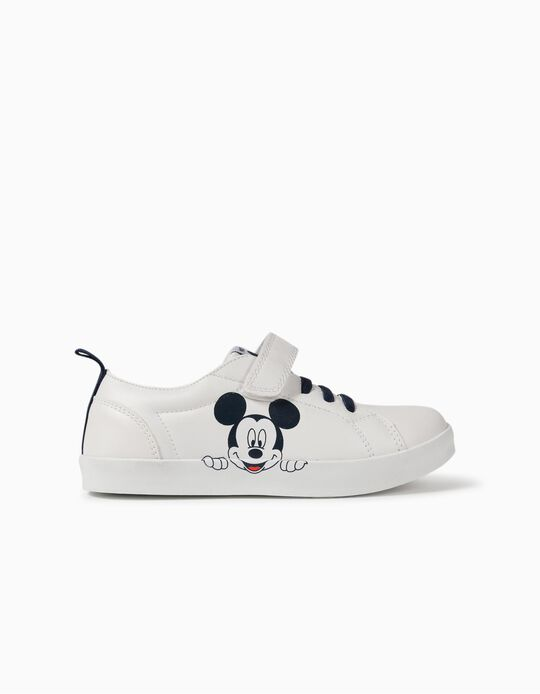 Mickey Mouse Trainers, Boys, White