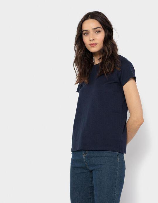 Basic Cotton T-shirt, Women