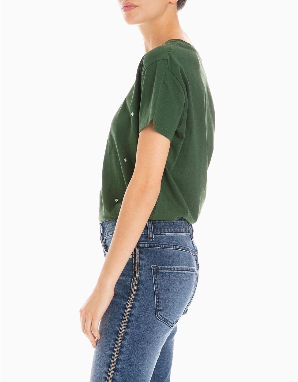 T-Shirt Com Tachas