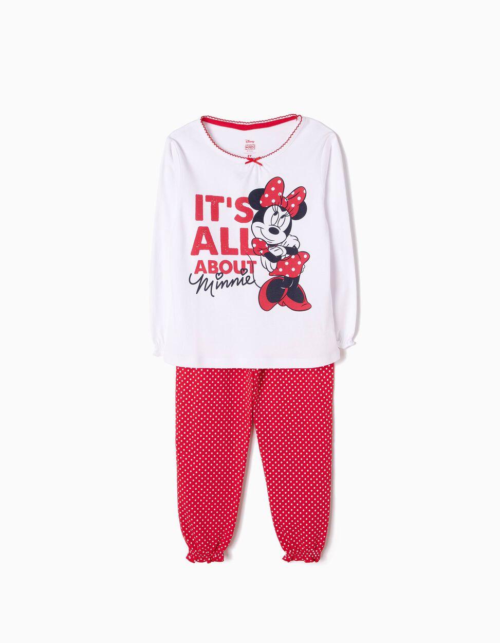 Pijama Manga Comprida e Calças All About Minnie