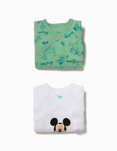 Pack 2 Bodies Manga Comprida Mickey