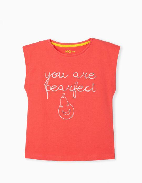 T-shirt de Algodão, Menina