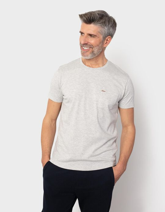 T-shirt with Pocket, for Men