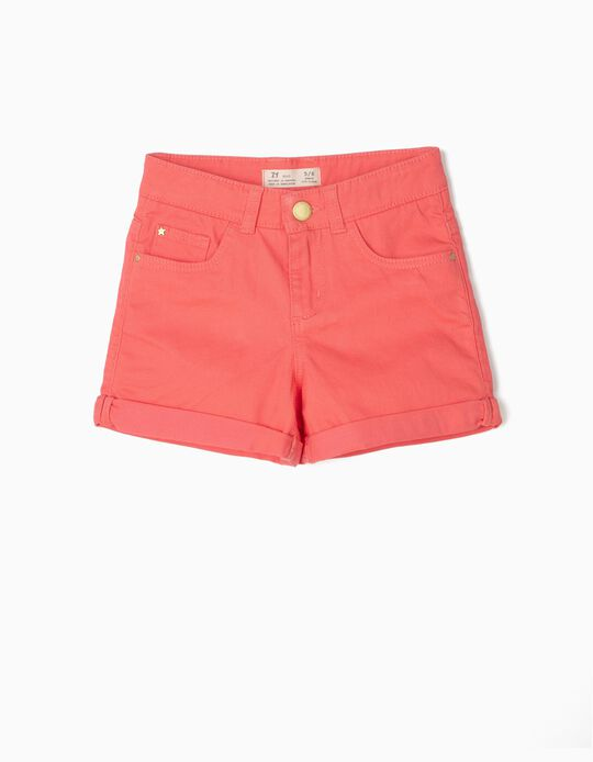 Shorts for Girls, Pink