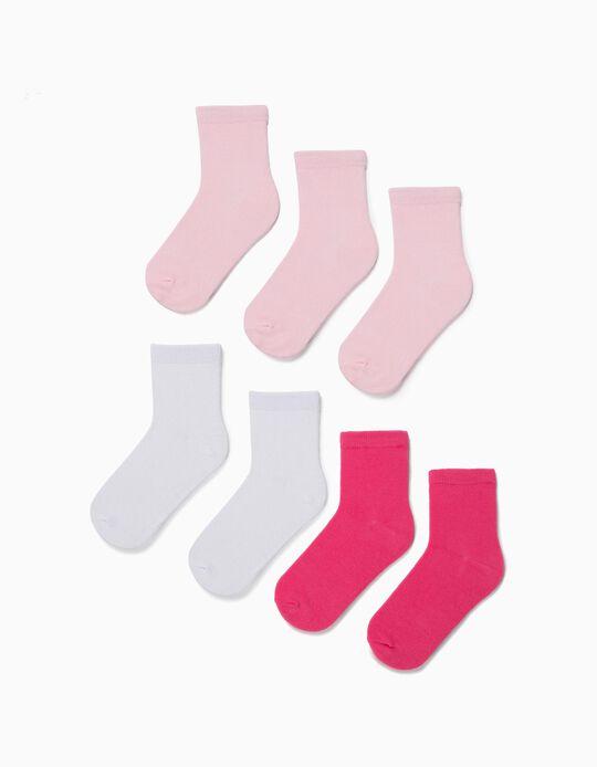 Plain Socks, pack of 7