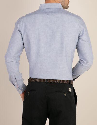 Camisa casual slim fit estilo Oxford