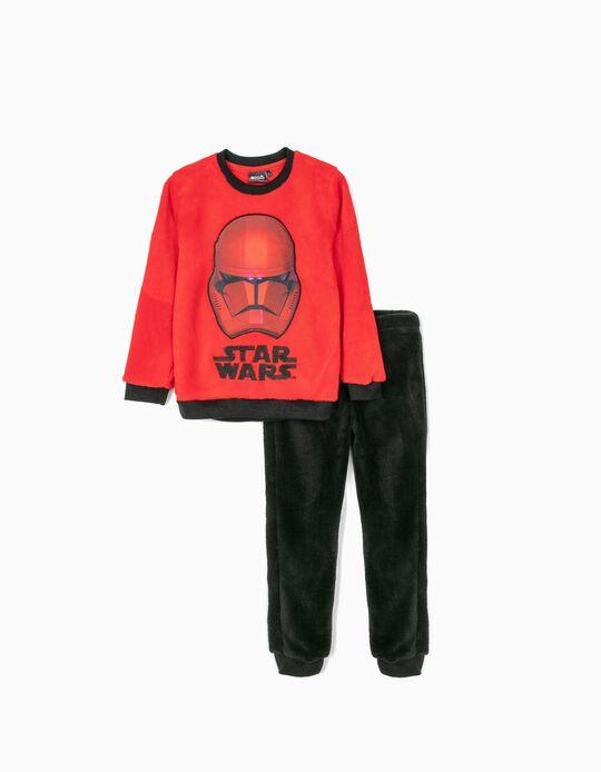 Pijama para Menino 'Star Wars', Vermelho/Preto