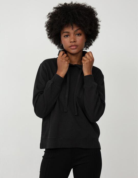 Basic Sweatshirt with Hood, Women