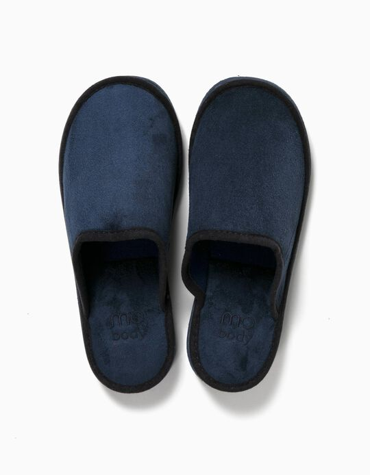 Blue Bedroom Slippers