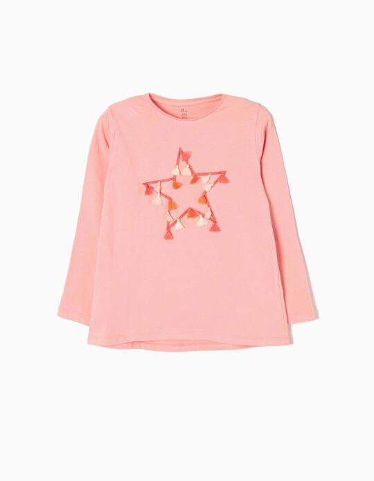 T-shirt Manga Comprida Estrela